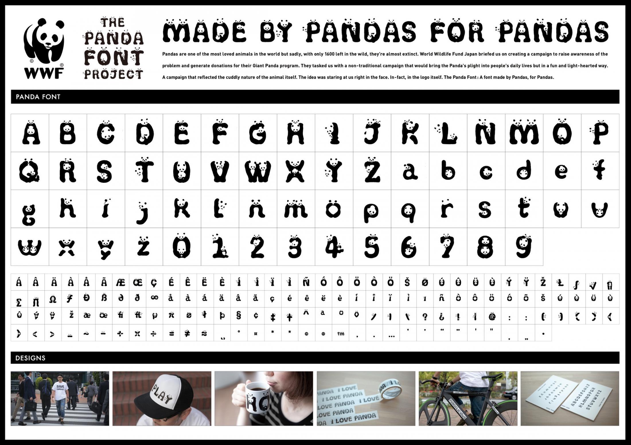 Panda Font | Agencia: Ogilvy