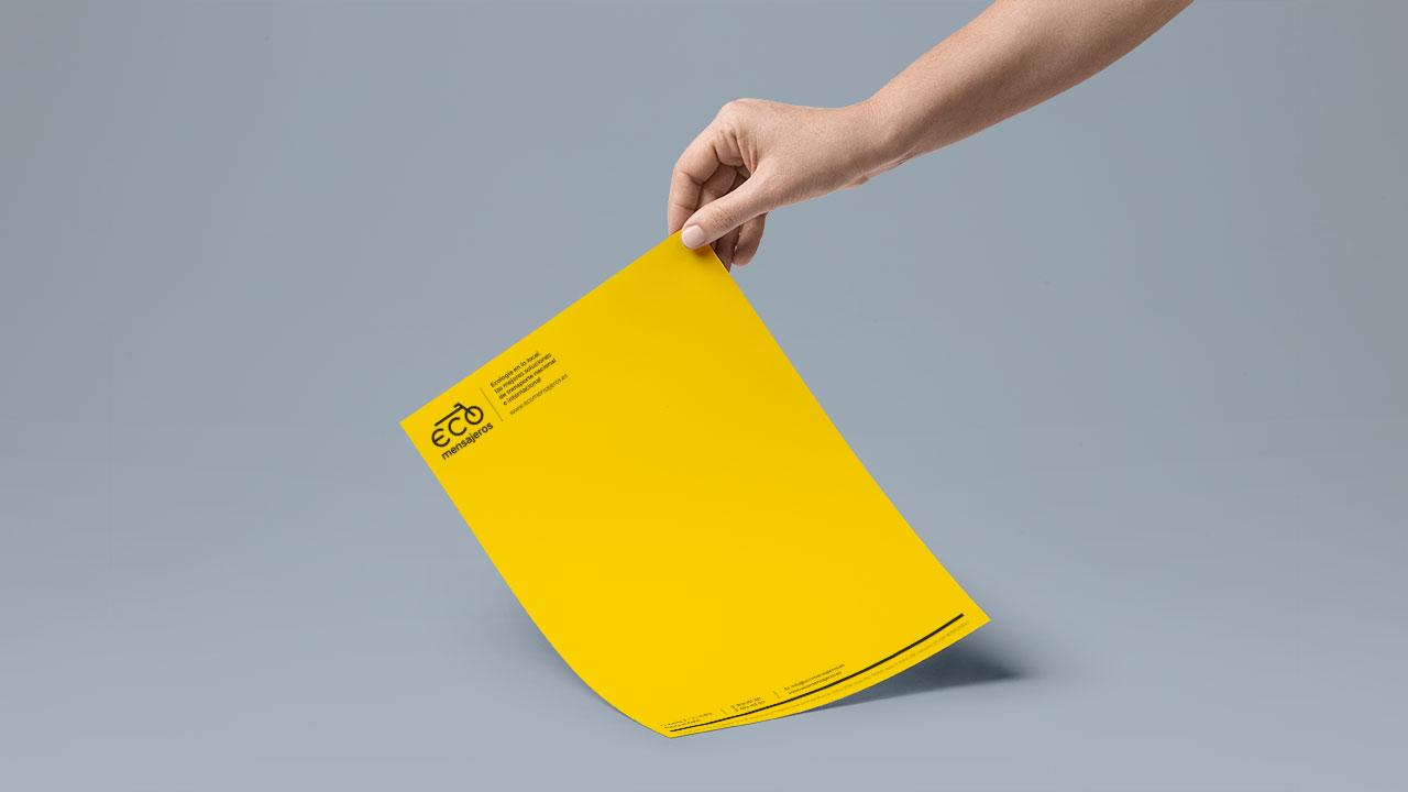 Carta A4 Ecomensajeros | Gurulab